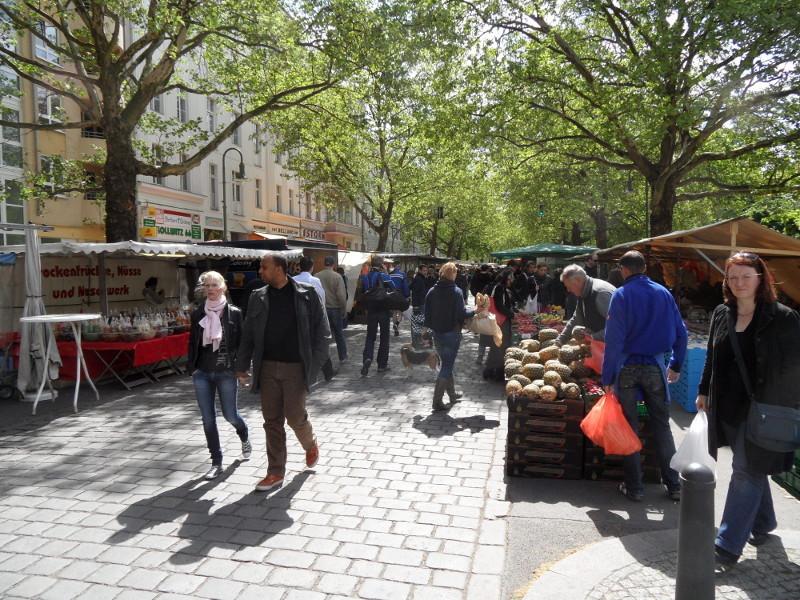 Kollwitzmarkt © visit pankow!