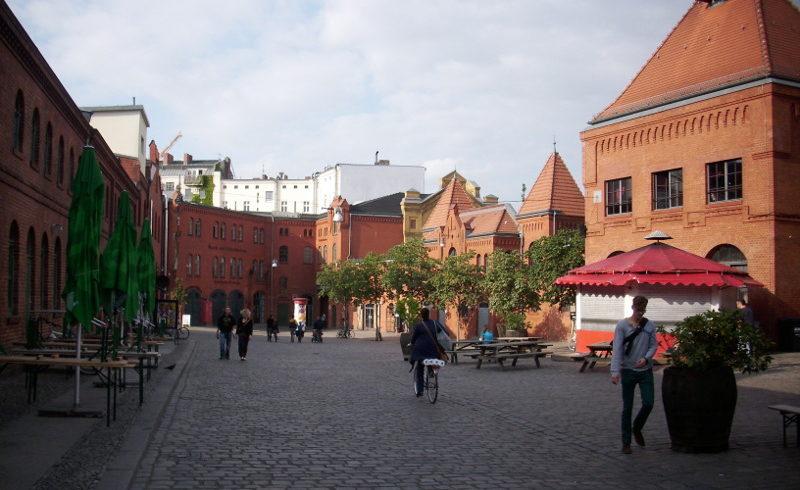 Hof der Kulturbrauerei © visit pankow!