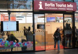 Berlin Tourist Info am Hauptbahnhof © visit pankow!