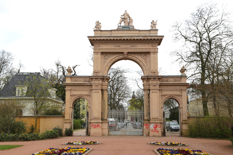 Tor im Bürgerpark Pankow © visit pankow!