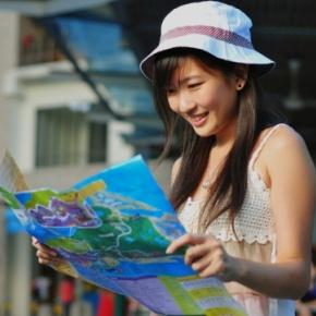 Chinesische Touristin