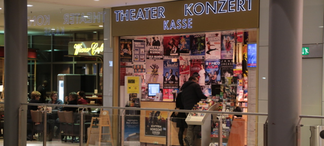 Konzertkasse am Potsdamerplatz © visit pankow!