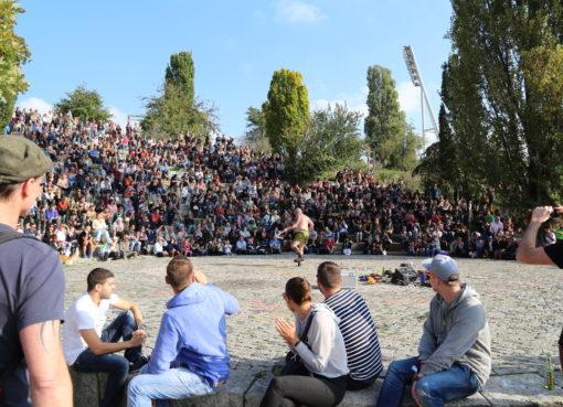 Karaoke im Mauerpark © visit pankow!