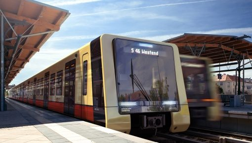 Neue Berliner S-Bahn – © Stadler Pankow GmbH / Design büro+staubach berlin