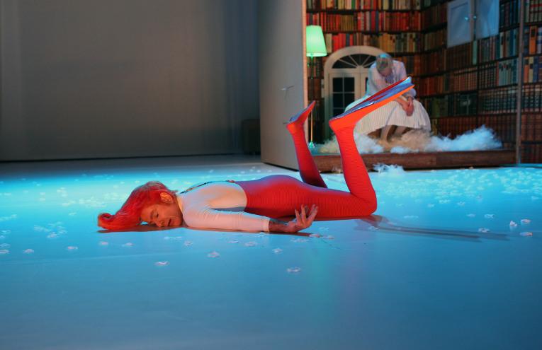 Jakob Kraze, Thomas Pasieka, Foto: Christian Brachwitz, Theater an der Parkaue
